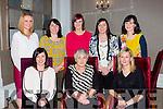 Kathleen Devlin Caherciveen met her family members from Kanturk in the Killarney park Hotel on Saturday night to belately celebrate Womens Christmas on Saturday night front row l-r: Margaret O'Dea, Eilish McSweeney, Maria mcSweeney, Back row: Sheila lane, Kathleen devlin, breda Sheehan, Liz Heffernan and Nora McSweeney