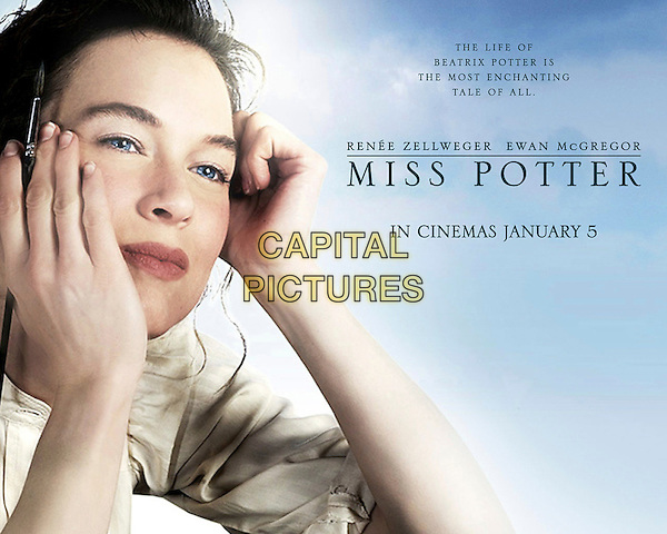 POSTER ART.in Miss Potter .**Editorial Use Only**.CAP/FB.Supplied by Capital Pictures