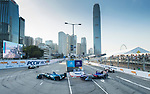Kamui Kobayashi #27 of Japan from MS & AD Andretti Formula E competes in the FIA Formula E Hong Kong 2017 E-Prix Round 1 at the Central Harbourfront Circuit on 02 December 2017 in Hong Kong, Hong Kong. Photo by Marcio Rodrigo Machado / Power Sport Images