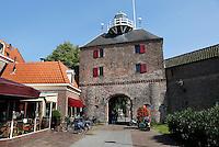 De Vischpoort in Harderwijk. Oude stadspoort