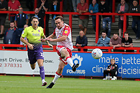 Paul Taylor of Stevenage forces Lewis Ward of Exeter City into great save during Stevenage vs Exeter City, Sky Bet EFL League 2 Football at the Lamex Stadium on 10th August 2019