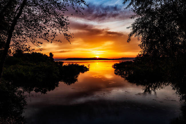 Sunrise over Big Sandy River