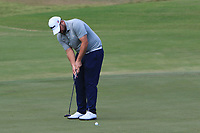 Jack Senior (ENG) on the 4th green during Round 3 of the Challenge Tour Grand Final 2019 at Club de Golf Alcanada, Port d'Alcúdia, Mallorca, Spain on Saturday 9th November 2019.<br /> Picture:  Thos Caffrey / Golffile<br /> <br /> All photo usage must carry mandatory copyright credit (© Golffile | Thos Caffrey)