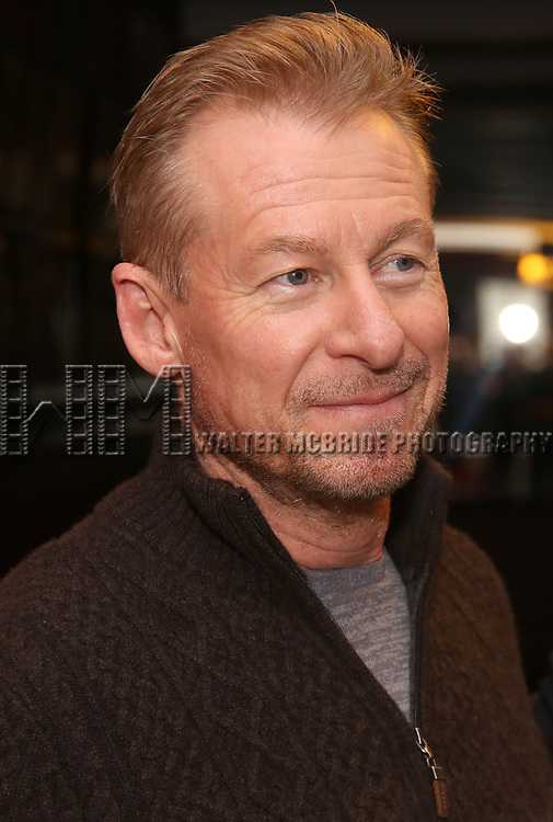 Richard Roxburgh attend the Cate Blanchett and Richard Roxburgh Caricature Unveiling at Sardi's on March 14, 2017 in New York City.