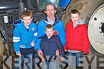 RELAXING; attending the Abbeydorney Ploughing Competition on Sunday were the Kissane family from Moyvane, L-r: Michéal,Mike,James and Conor Kissane.....