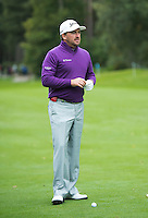 Graeme McDowell of Northern Ireland looks on during a Pro-Am round ahead of the 2015 British Masters at the Marquess Course, Woburn, in Bedfordshire, England on 7/10/15.<br /> Picture: Richard Martin-Roberts   Golffile