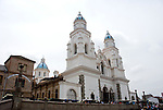 The Virgin of El Quinche, a small town and sanctuary in the Tumbaco valley, east of Quito, is a point of attraction for pilgrims from the northern sierra. The Virgin is favorite among drivers and transport workers and many indigenous people.