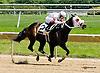 Coldback winning at Delaware Park racetrack on 6/16/14