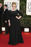 BEVERLY HILLS, CA - JANUARY 13: Adele at the 70th Annual Golden Globe Awards at the Beverly Hills Hilton Hotel in Beverly Hills, California. January 13, 2013. Credit: mpi29/MediaPunch Inc. /NortePhoto