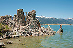 tufas, Mono Lake; Mono Basin National Forest Scenic Area, California, USA.  Photo copyright Lee Foster.  Photo # california120953