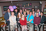 HAPPY 18TH: Chloe Kelliher, Castleisland (seated centre) who celebrated her 18th birthday, with family and friends, in O'Riada's bar Ballymac  on Friday night last.