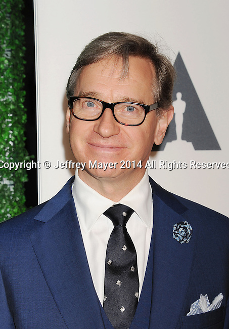 LOS ANGELES, CA- OCTOBER 01: Director Paul Feig attends The Academy of Motion Picture Arts and Sciences' Hollywood Costume Opening Party at the Wilshire May Company Building on October 1, 2014 in Los Angeles, California.