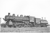 Fireman's-side view of Southern Pacific Atlantic #3029,<br /> Southern Pacific
