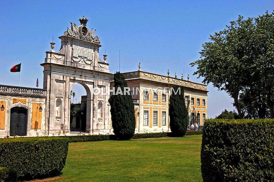 Palácio Seteais em Sintra. Portugal. 2005. Foto de Rogério Reis.