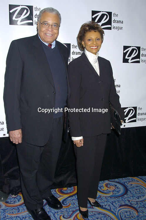 James Earl Jones and Leslie Uggams..at the 71st Annual Drama League Awards Luncheon on ..May 13, 2005 at the Marriott Marquis Hotel. ..Photo by Robin Platzer, Twin Images