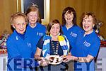 Ann O'Connor, Kathleen Keane, Teresa Irwin, Eimear Moynihan and Frankie McMahon enjoying the Killarney Soroptimists pancake morning in the Killarney Avenue Hotel on Tuesday