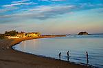 Surf Club beach, Madison, CT. Labor Day . Connecticut Long Island Shoreline and beach.