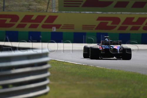 July 27th 2017, Hungaroring, Mogyoród, Hungary; Formula One Grand Prix of Hungary, free practise sessions; Carlos Sainz - Scuderia Toro Rosso STR12