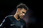 Neymar da Silva Santos Junior, Neymar Jr, of Paris Saint Germain reacts during the UEFA Champions League 2017-18 Round of 16 (1st leg) match between Real Madrid vs Paris Saint Germain at Estadio Santiago Bernabeu on February 14 2018 in Madrid, Spain. Photo by Diego Souto / Power Sport Images