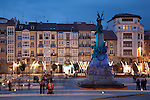City Centre of Vitoria - Gasteiz, Basque Country, Spain