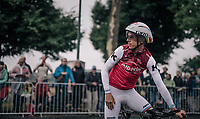 TT World Champion Tony Martin (DEU/Katusha) during course recon<br /> <br /> 104th Tour de France 2017<br /> Stage 1 (ITT) - Düsseldorf › Düsseldorf (14km)