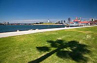 Rainbow Harbor And Marina In Long Beach