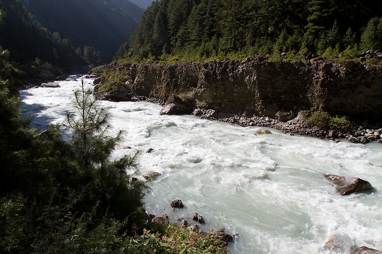 Dudh Kosi River. Photo by Didrik Johnck.