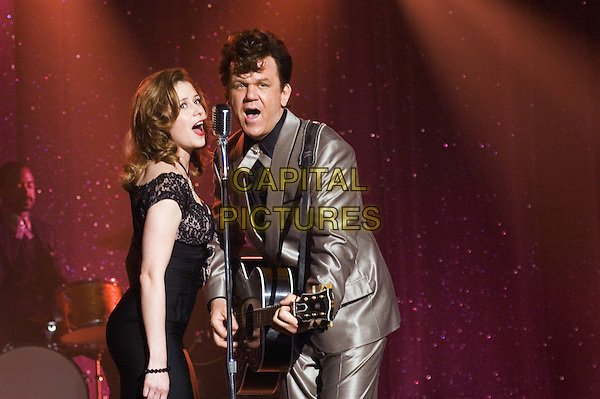 JENNA FISCHER & JOHN C. REILLY.in Walk Hard: The Dewey Cox Story.*Filmstill - Editorial Use Only*.CAP/NFS.Supplied by Capital Pictures.