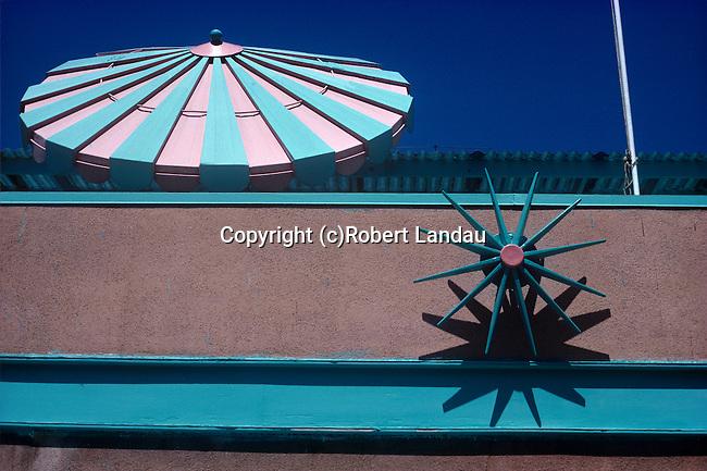 Apartment Building Facade, West Los Angeles,1974