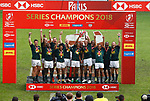 Final during the Second day at Paris Sevens 2018 at Stade Jean Bouin, Paris, France HSBC World Rugby Sevens Series. Photo Martin Seras Lima
