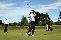 James Anstiss during the New Zealand Amateur Golf Championship at Russley Golf Course, Christchurch, New Zealand. Friday 3 November 2017. Photo: Martin Hunter/www.bwmedia.co.nz