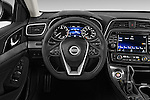 Car pictures of steering wheel view of a2016 Nissan Maxima SV 4 Door Sedan Steering Wheel