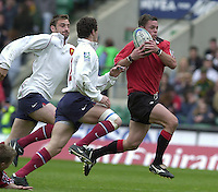 25/05/2002 (Saturday).Sport -Rugby Union - London Sevens.Canada vs France (Final) .France winning final.Mike Danskin CAN[Mandatory Credit, Peter Spurier/ Intersport Images].