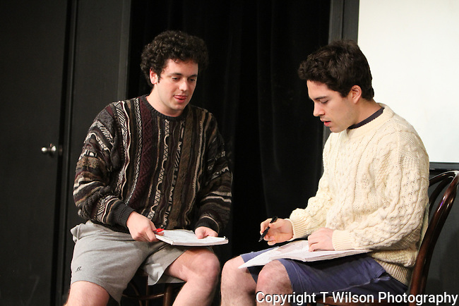"John Haskell and Arthur Meyer are ""Two Fun Men"" at Sketchfest NYC, 2011."