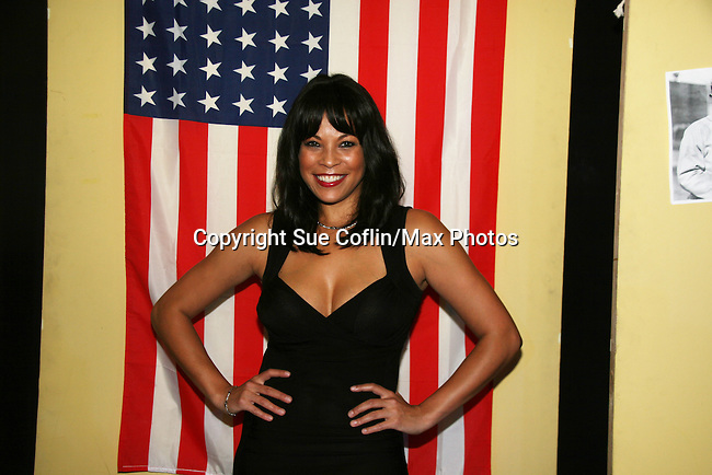 - Opening Night - Daphnee Duplaix stars in Layon Gray's All American Girls on August 25, 2010 at The Actors Temple, New York City, New York. (Photos by Sue Coflin)