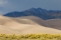 Great Sand Dunes National Park, Colorado.<br /> <br /> Canon EOS 5D Mk II, 70-200 f/2.8L lens