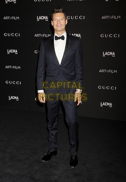 LOS ANGELES, CA - NOVEMBER 01: TV personality Ryan Seacrest attends the 2014 LACMA Art + Film Gala honoring Barbara Kruger and Quentin Tarantino presented by Gucci at LACMA on November 1, 2014 in Los Angeles, California.<br /> CAP/ROT/TM<br /> &copy;Tony Michaels/Roth Stock/Capital Pictures