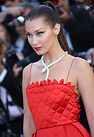 BELLA HADID<br /> Okja Red Carpet Arrivals - The 70th Annual Cannes Film Festival<br /> CANNES, FRANCE - MAY 19: attends the 'Okja' screening during the 70th annual Cannes Film Festival at Palais des Festivals on May 19, 2017 in Cannes