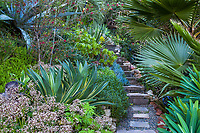 Jim Bishop and Scott Borden garden