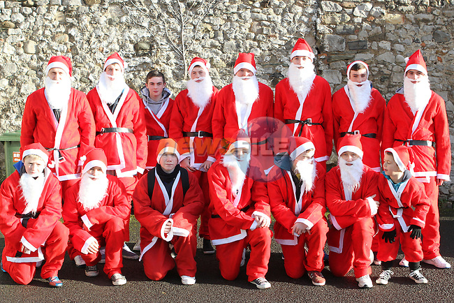 2012 Christmas Bonanza Santa Run...Photo NEWSFILE/Jenny Matthews..(Photo credit should read Jenny Matthews/NEWSFILE)