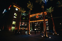 SAN FRANCISCO, CA - Exterior view of Pacific Bell Park at night, home of the San Francisco Giants, in San Francisco, California in 2000. Photo by Brad Mangin