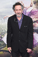 "Tim Burton<br /> at the premiere of ""Alice Through the Looking Glass"" held at the Odeon Leicester Square, London<br /> <br /> <br /> ©Ash Knotek  D3117  10/05/2016"