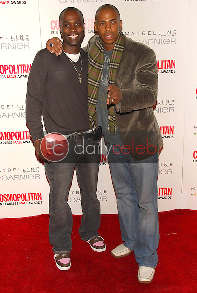 Nashawn Kearse and Mehcad Brooks<br />at the Cosmopolitan Fun Fearless Male Awards. Day After, Hollywood, CA 02-13-06<br />Dave Edwards/DailyCeleb.com 818-249-4998