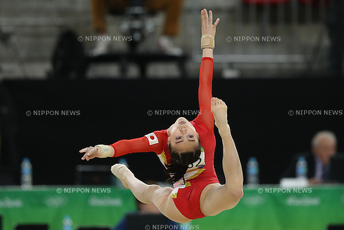 Aiko Sugihara (JPN), <br /> AUGUST 9, 2016 - Artistic Gymnastics : <br /> Women's Final <br /> Floor Exercise<br /> at Rio Olympic Arena <br /> during the Rio 2016 Olympic Games in Rio de Janeiro, Brazil. <br /> (Photo by Koji Aoki/AFLO SPORT)