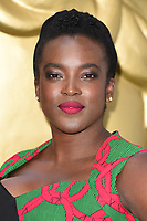 Wunmi Mosaku at the BAFTA Television Craft Awards 2017 held at The Brewery, London, UK. <br /> 23 April  2017<br /> Picture: Steve Vas/Featureflash/SilverHub 0208 004 5359 sales@silverhubmedia.com