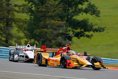 Verizon IndyCar Series<br /> IndyCar Grand Prix at the Glen<br /> Watkins Glen International, Watkins Glen, NY USA<br /> Sunday 3 September 2017<br /> Ryan Hunter-Reay, Andretti Autosport Honda<br /> World Copyright: Phillip Abbott<br /> LAT Images<br /> ref: Digital Image abbott_wglen_0817_10377
