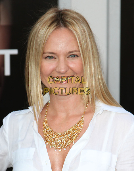 "SHARON CASE .""Salt"" Los Angeles Premiere held at Grauman's Chinese Theatre, Hollywood, California, USA, 19th July 2010..portrait headshot white shirt smiling gold necklace .CAP/ADM/KB.©Kevan Brooks/AdMedia/Capital Pictures."