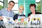 Teegan Meehan the winning entry in Cultural diversity and Integration poster campaign competition with the runners up at the campaign launch at the Government buildings in Killarney on Monday l-r: Declan Sugrue Caherciveen,Teegan Meehan Ballybunion (overall winner),Maryanne Keane Lixnaw