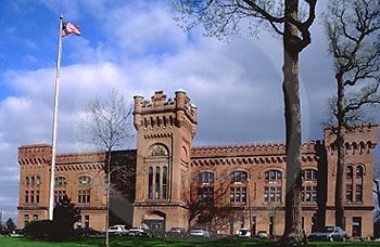 Harrisburg, PA, Historic Armory, 19th Street. Herr Street