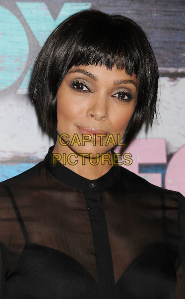 Tamara Taylor.Fox All-Star Party - Summer 2012 held at Private Location, West Hollywood, California, USA..July 23rd, 2012.headshot portrait blue eyeshadow black sheer blouse bra see through thru .CAP/ROT/TM.©Tony Michaels/Roth Stock/Capital Pictures